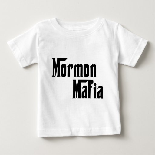 Mafia mormona playera de bebé
