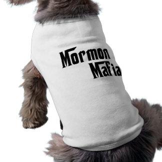 Mafia mormona camisetas de mascota