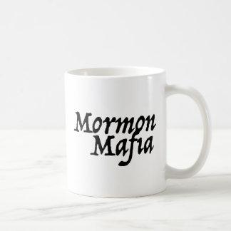 Mafia mormona taza de café