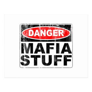 Mafia Stuff Post Cards