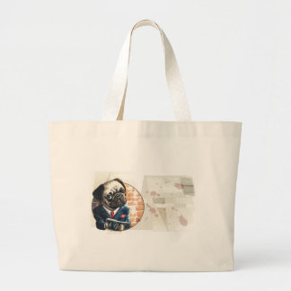 Mafioso Pugsy Beigel by Mudge Studios Bags