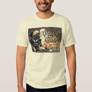 Mafioso Pugsy Beigel por los estudios de Mudge Poleras