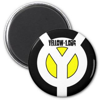 Mag amarillo imán de frigorifico