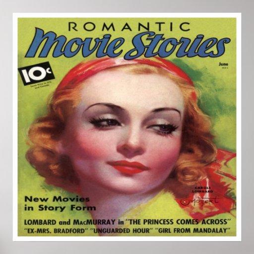 Mag de las historias de la película de Carole Lomb Posters