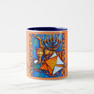 Mag del café del Dos-tono del Passover Taza De Dos Tonos