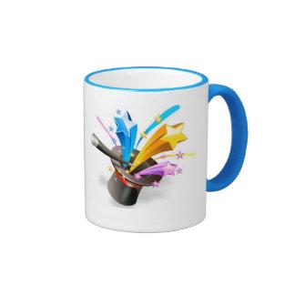 Mag mágico de la vara taza de dos colores