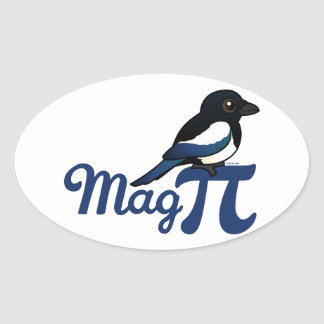Mag PI Oval Sticker
