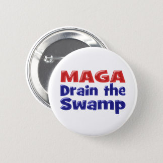 MAGA Drain DC Swamp Button