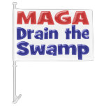 MAGA Drain The Swamp Car Flags