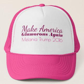 MAGA Make America Glamorous Again Melania Trump Trucker Hat