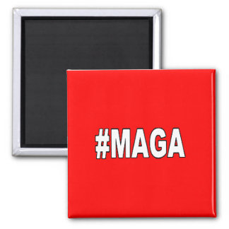 "#MAGA ""Make America Great Again"" Magnet"