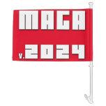 MAGA v.2024 Car Flag