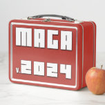 MAGA v.2024 Metal Lunch Box