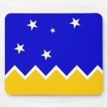 Magallanes, bandera de Chile, la Antártida Tapetes De Ratón