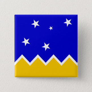 Magallanes, Chile, Antarctica flag Button