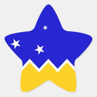 Magallanes Patagonia/Patagonian Flag. Chile Star Sticker