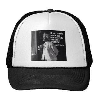 MagamboArt Mark Twain Trucker Hat