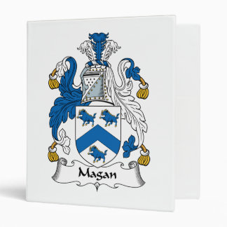 Magan Family Crest Binders