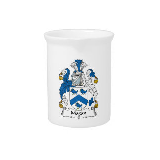 Magan Family Crest Drink Pitchers