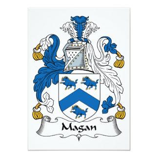 Magan Family Crest Invitations