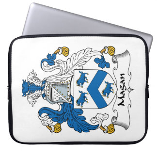 Magan Family Crest Laptop Sleeves
