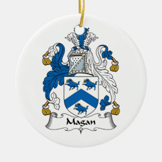 Magan Family Crest Ornaments
