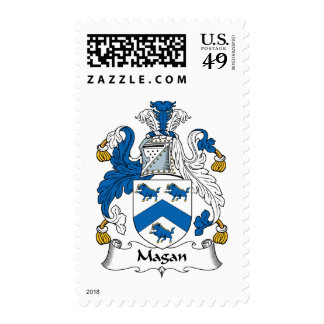 Magan Family Crest Postage Stamps