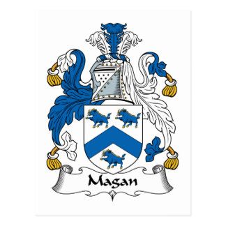 Magan Family Crest Postcards
