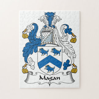 Magan Family Crest Puzzles