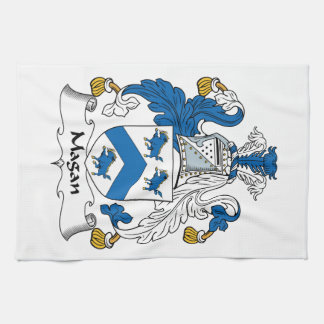 Magan Family Crest Towels