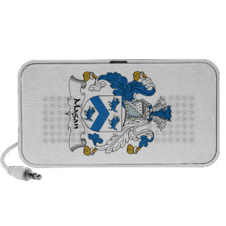 Magan Family Crest Travelling Speakers