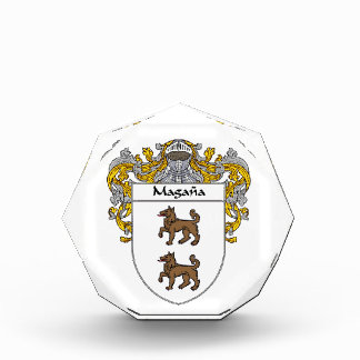 Magana Coat of Arms Family Crest Awards