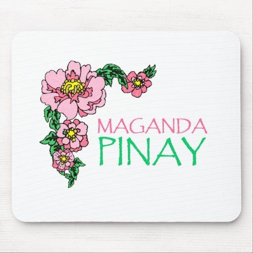 """""""Maganda Pinay"""" Mousepad"""