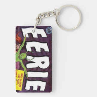Magazine cover of mystery keychain