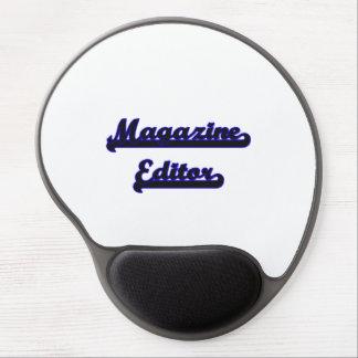 Magazine Editor Classic Job Design Gel Mouse Pad