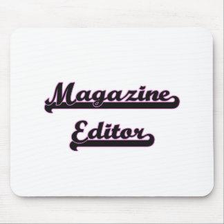 Magazine Editor Classic Job Design Mouse Pad