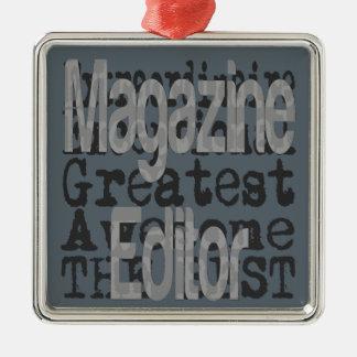 Magazine Editor Extraordinaire Metal Ornament