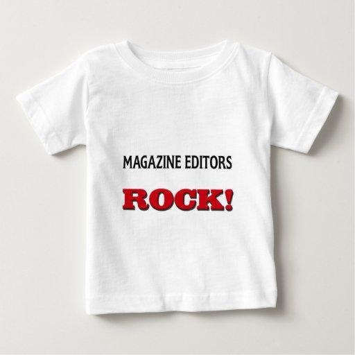 Magazine Editors Rock Tee Shirts