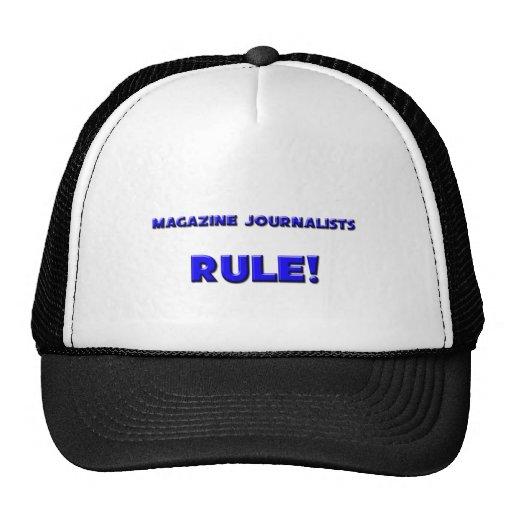 Magazine Journalists Rule! Hat