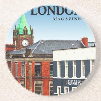 Magazine Street in Londonderry Drink Coaster
