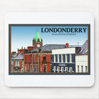 Magazine Street in Londonderry Mouse Pads