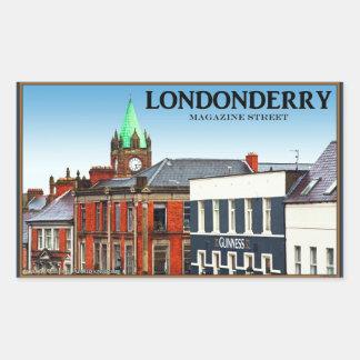 Magazine Street in Londonderry Sticker