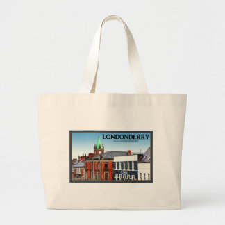 Magazine Street in Londonderry Tote Bags