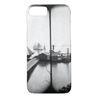 Magazine wharf_War Image iPhone 7 Case