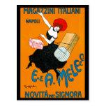 Magazzini Italiani, E. & A. Mele & Ci. 1904 Post Cards