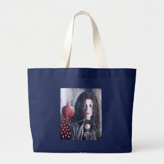 MAGDALEN AND POMEGRANATE LARGE TOTE BAG