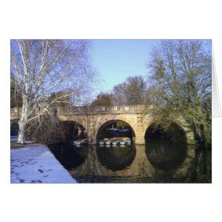 Magdalen Bridge, Oxford Card