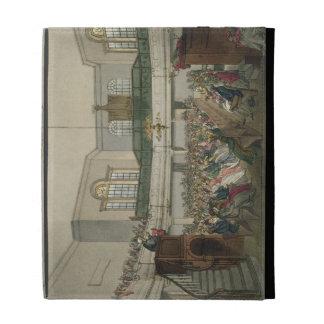 Magdalen Chapel, from 'Ackermann's Microcosm of Lo iPad Case