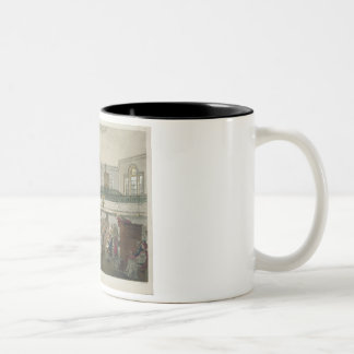Magdalen Chapel, from 'Ackermann's Microcosm of Lo Two-Tone Coffee Mug