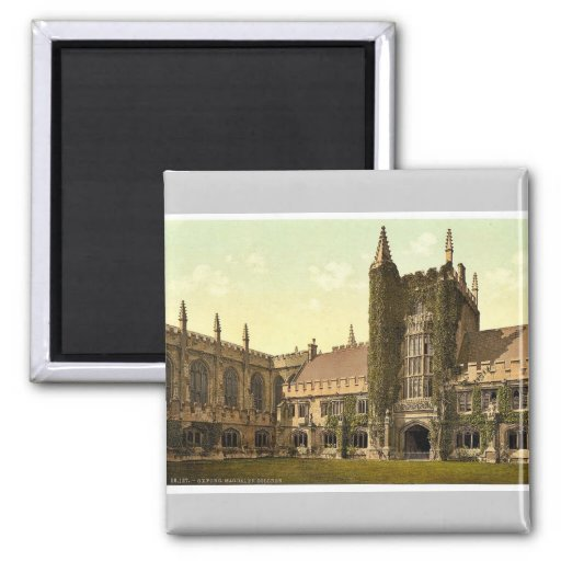Magdalen College, Founder's Tower and Cloisters, O Fridge Magnets